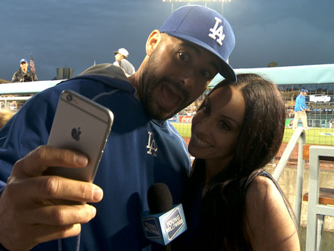 L.A. Dodgers on Selfies and #BaseballPlayerProblems