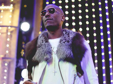 Tyrese Performs His Album 'Black Rose' at Universal CityWalk
