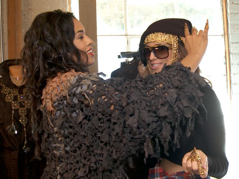 Kali Hawk Shows Off Her H.Crowne Collection & Talks 'Fifty Shades of Black'
