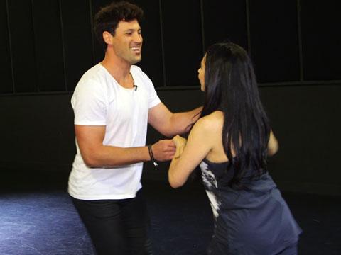 Maks Chmerkovskiy's Partnering Skills