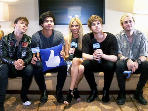 5SOS Talk Touring & Summer Crushes