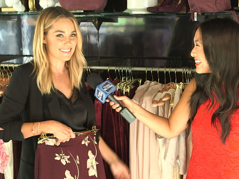 Lauren Conrad Presents Her Runway Collection