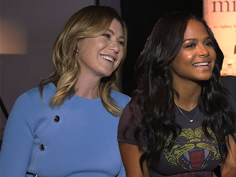 Ellen Pompeo & Christina Milian Talk Skin Care, Beauty, & Confidence