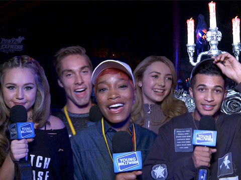 Keke Palmer & More Talk Halloween at Knott's Scary Farm