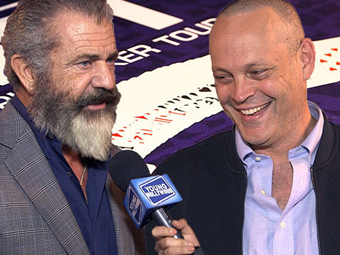 Charity Poker with Mel Gibson, Vince Vaughn, & More