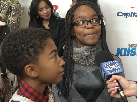 """Black-ish"" Kids' Holiday Freestyle"
