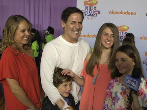 Mark Cuban Reveals Who He'd Slime at the KCAs
