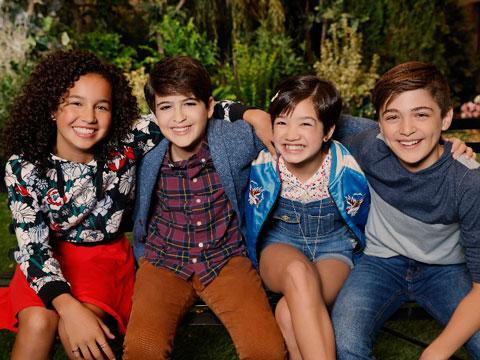 "Striking a Pose with Disney's ""Andi Mack"" Stars"