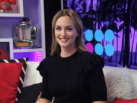 "Leighton Meester on ""Gossip Girl"" vs. ""Making History"" Fashion"
