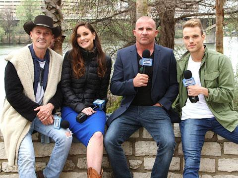 "Escaping to Austin with ""Prison Break"" Cast"