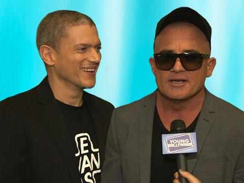 """Prison Break"" Stars Reunite at WonderCon"