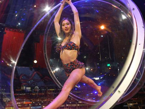 Stepping Into the Bubble of Vegas's #1 Show 'Absinthe'