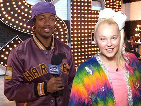 Nick Cannon & JoJo Siwa Give Us a Backstage Tour